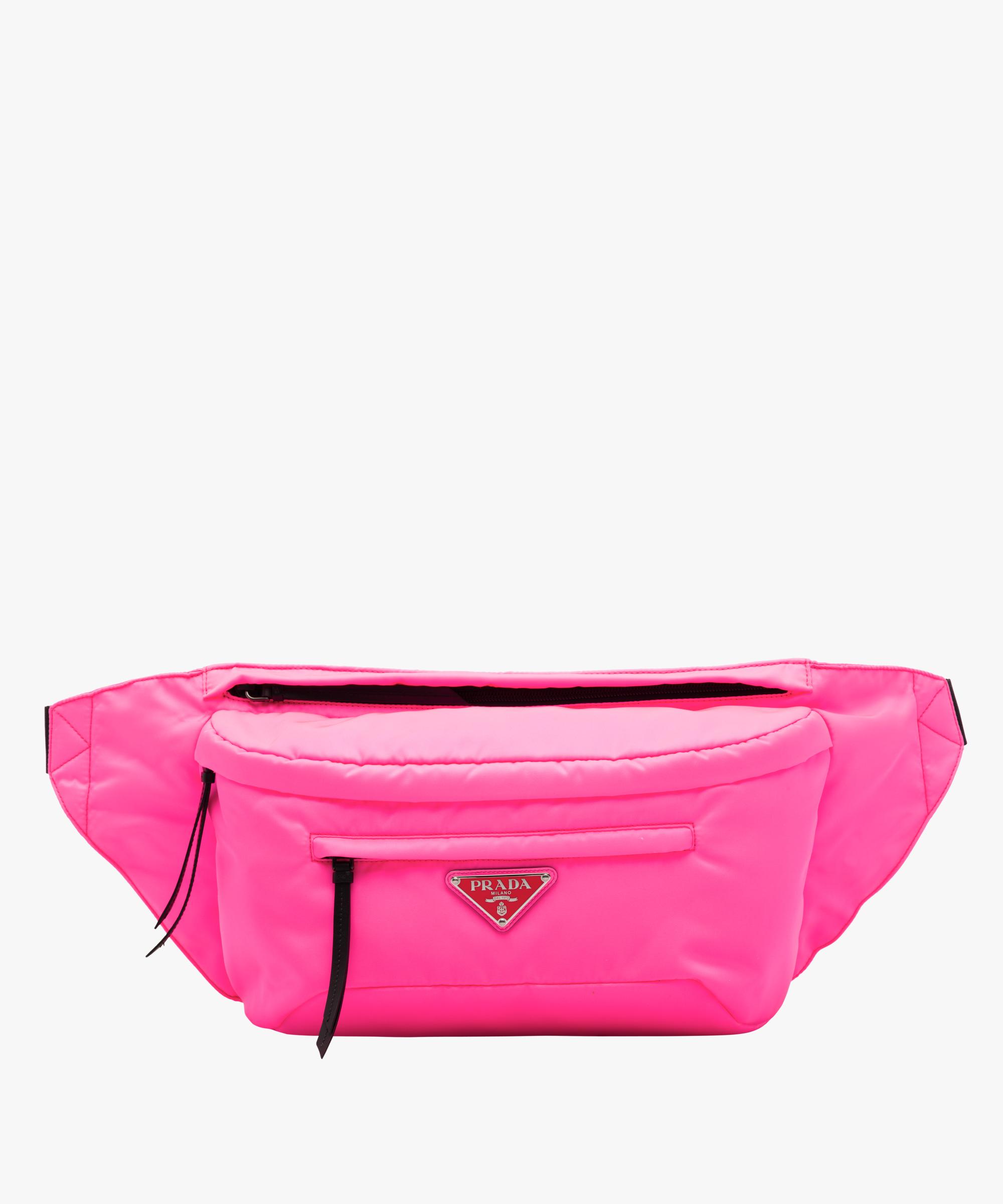 Nylon Belt Bag Prada Neon Pink
