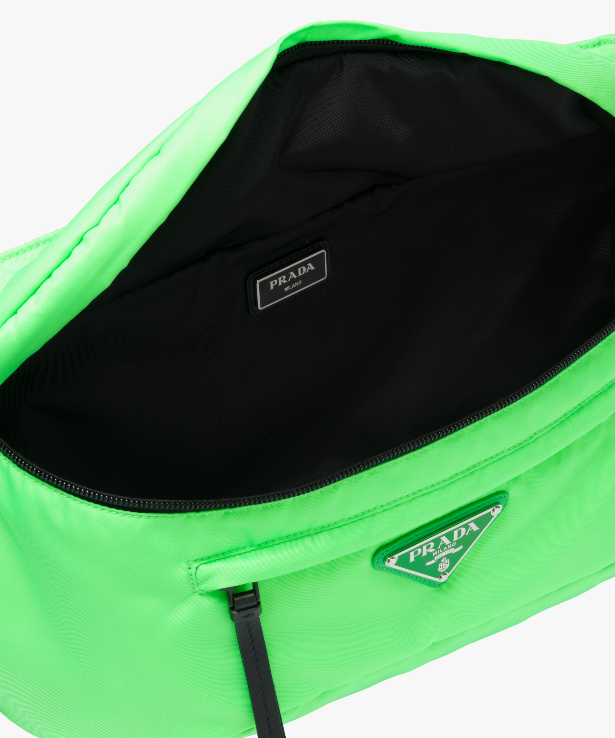 0415af9aceee Nylon belt bag Prada FLUORESCENT GREEN ...