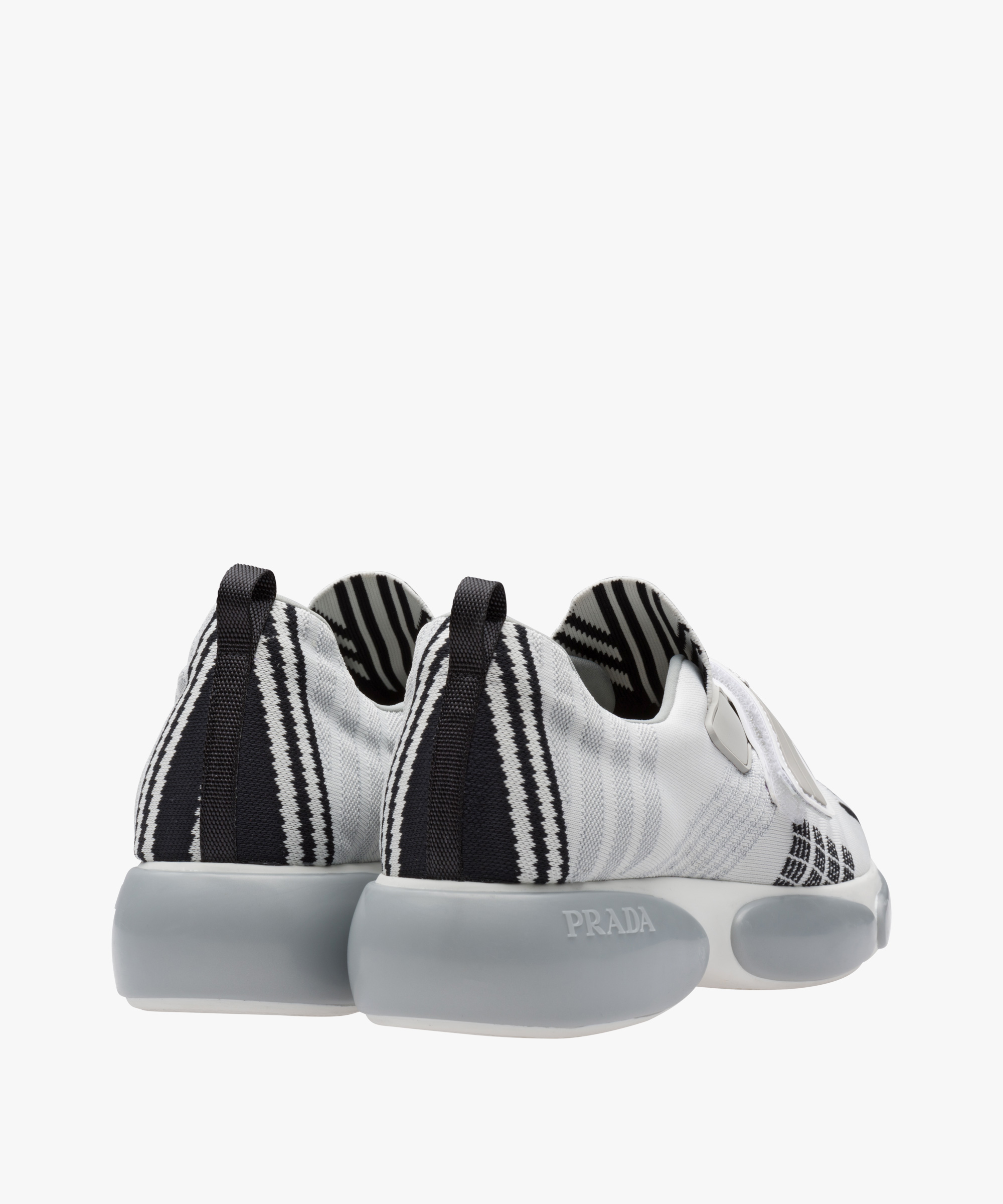 Cloudbust Nylon Slip On SneakersPrada