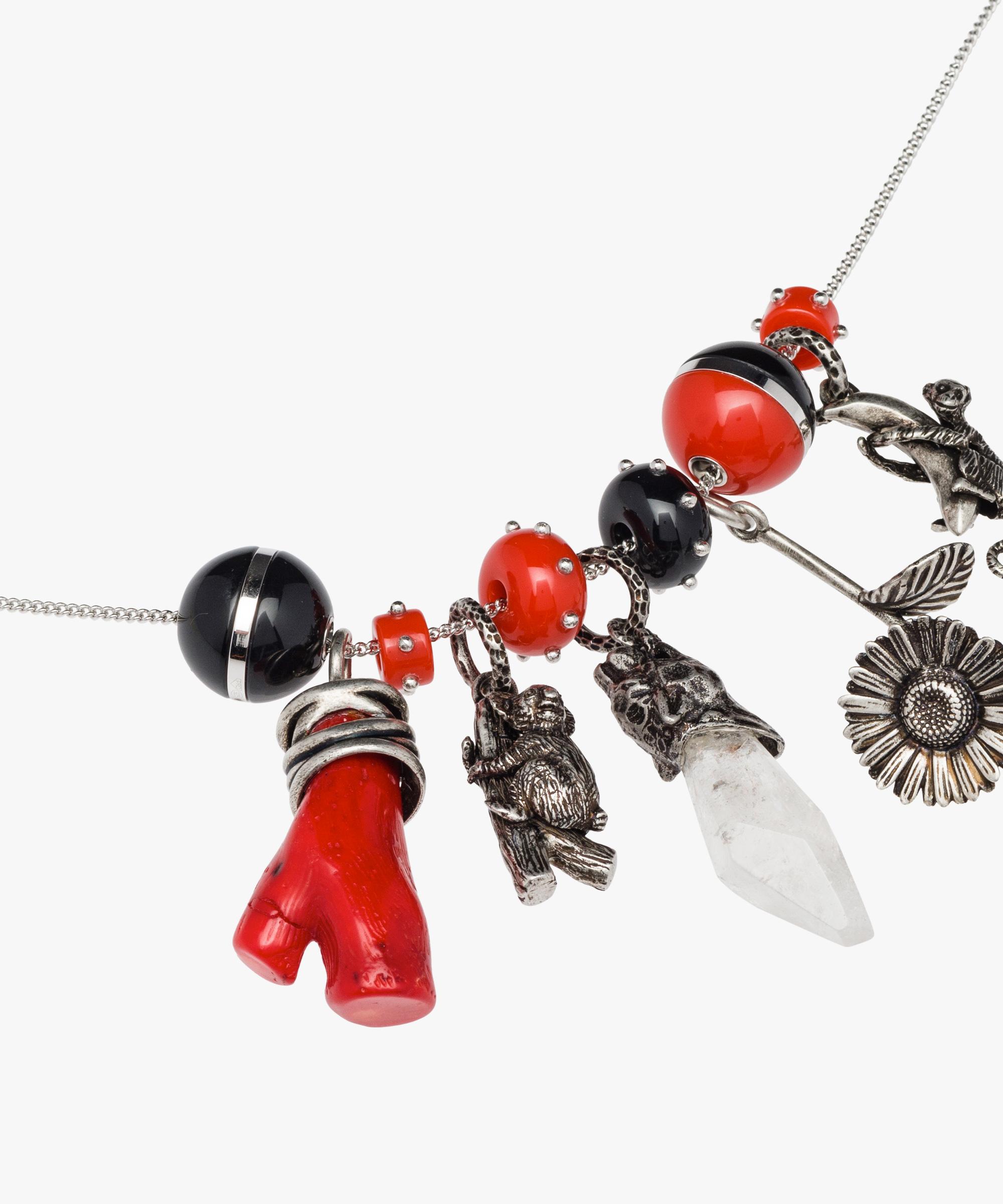 Prada Prada Talisman Plexiglas Necklace fbSmWtAvlf
