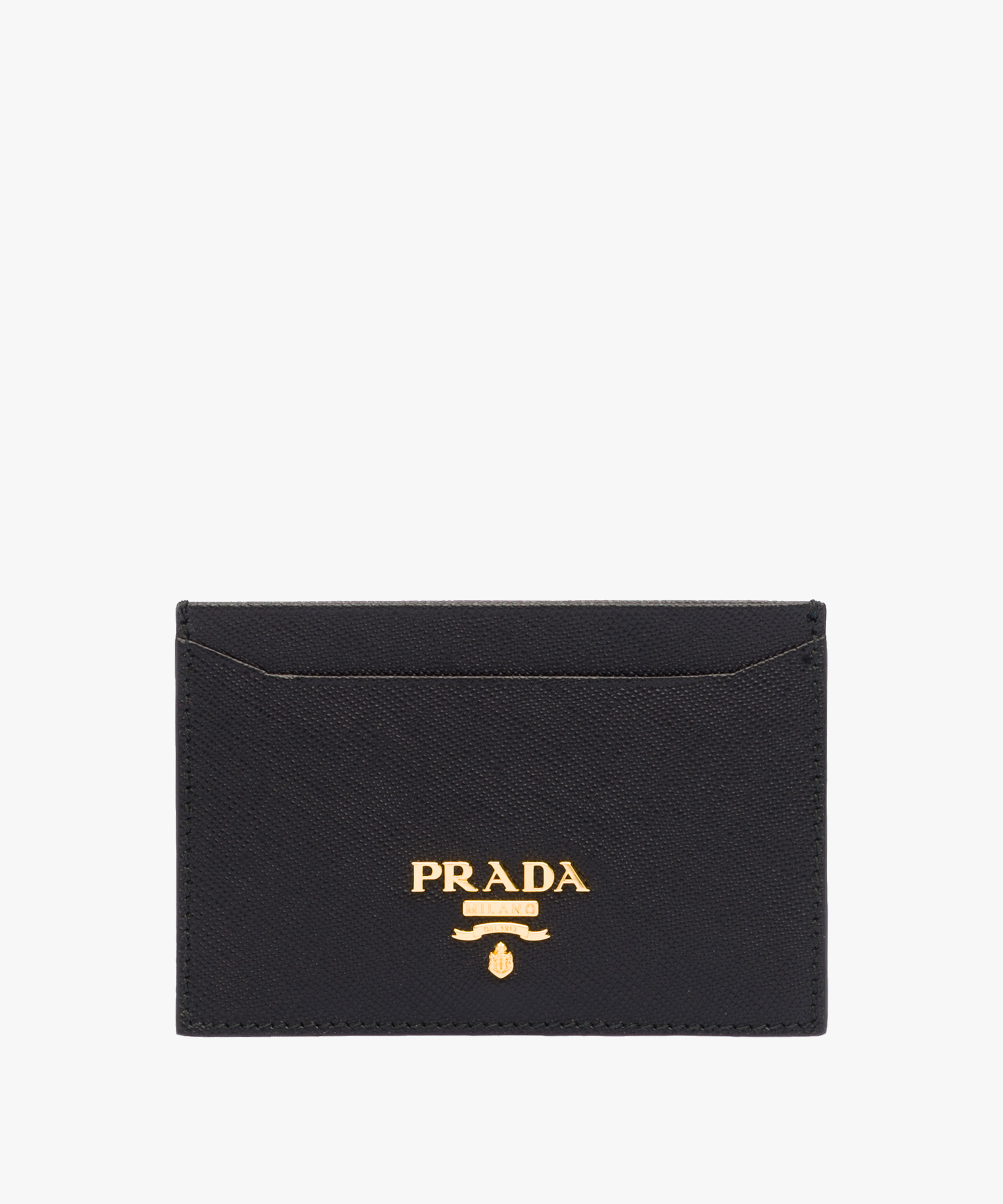 Leather Card Holder | Prada