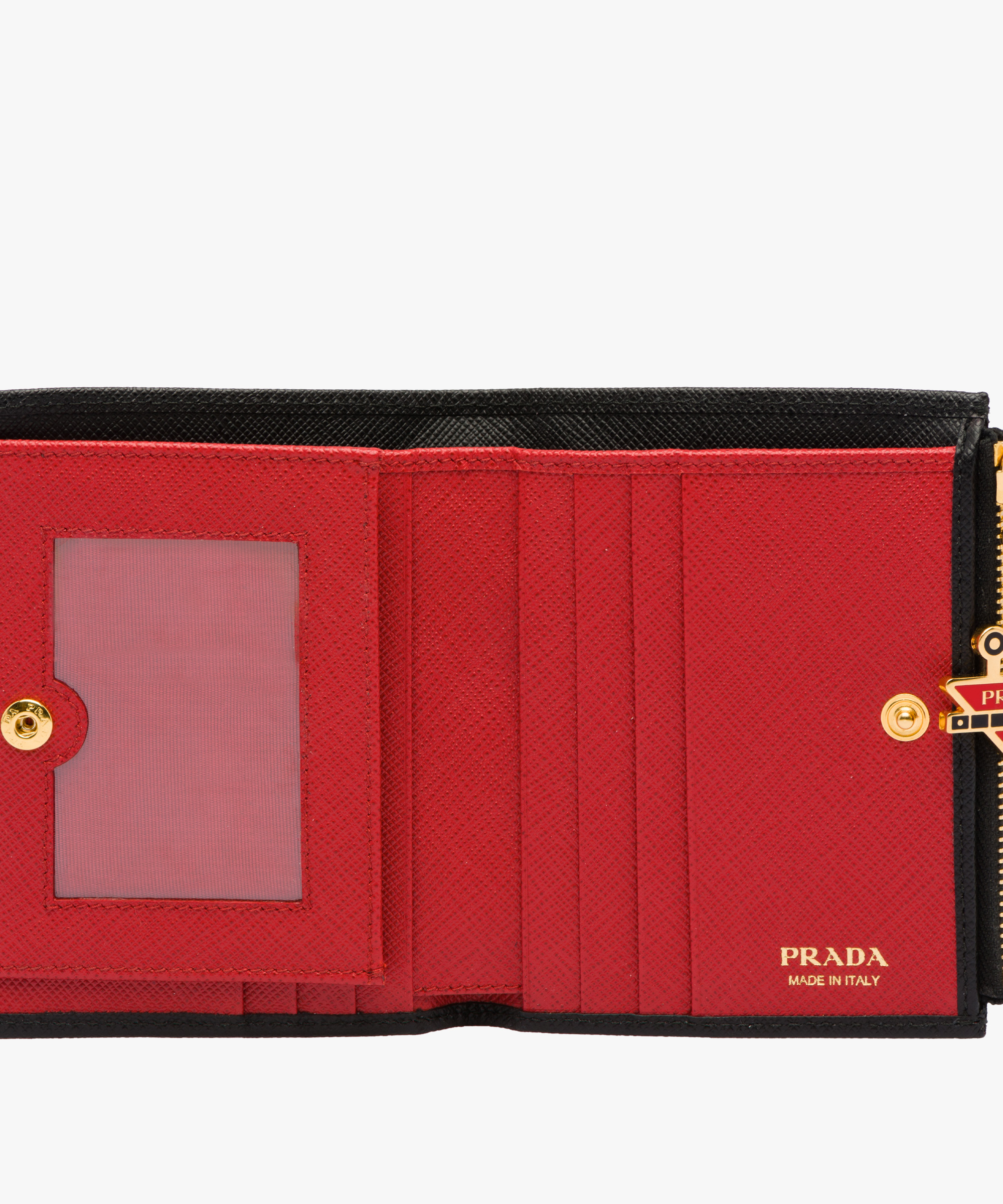 e504e0cb88a5 greece discount code for small saffiano leather wallet prada black fire  engine red b58fe d3ea6 93a65