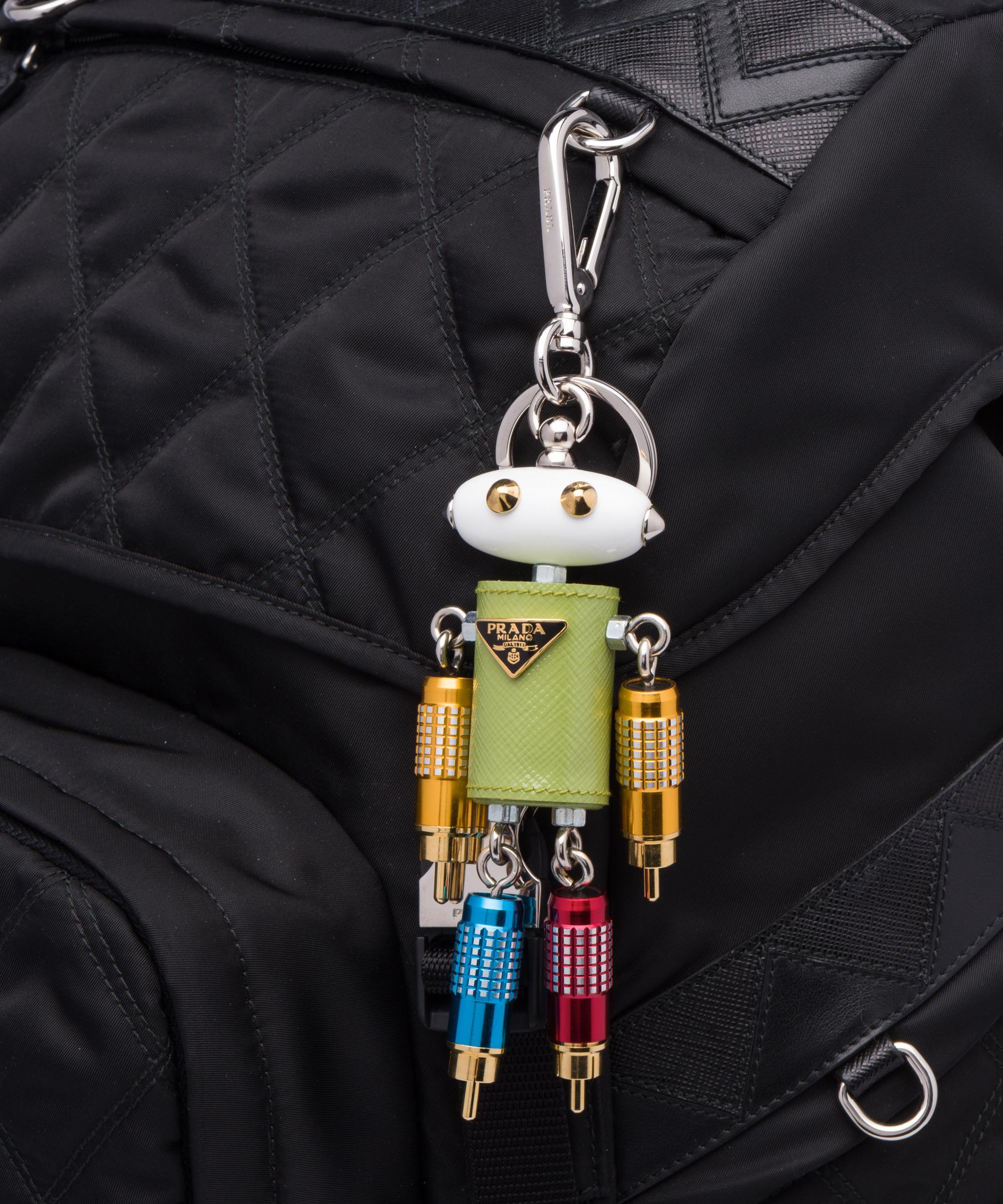 Prada Saffiano Leather Keychain Trick cnKGzr