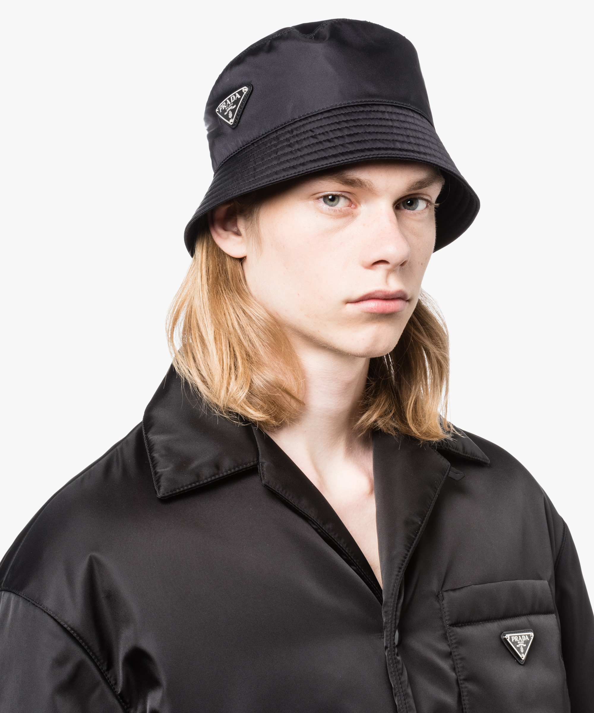 8d3923e3 Nylon rain hat Prada BLACK ...