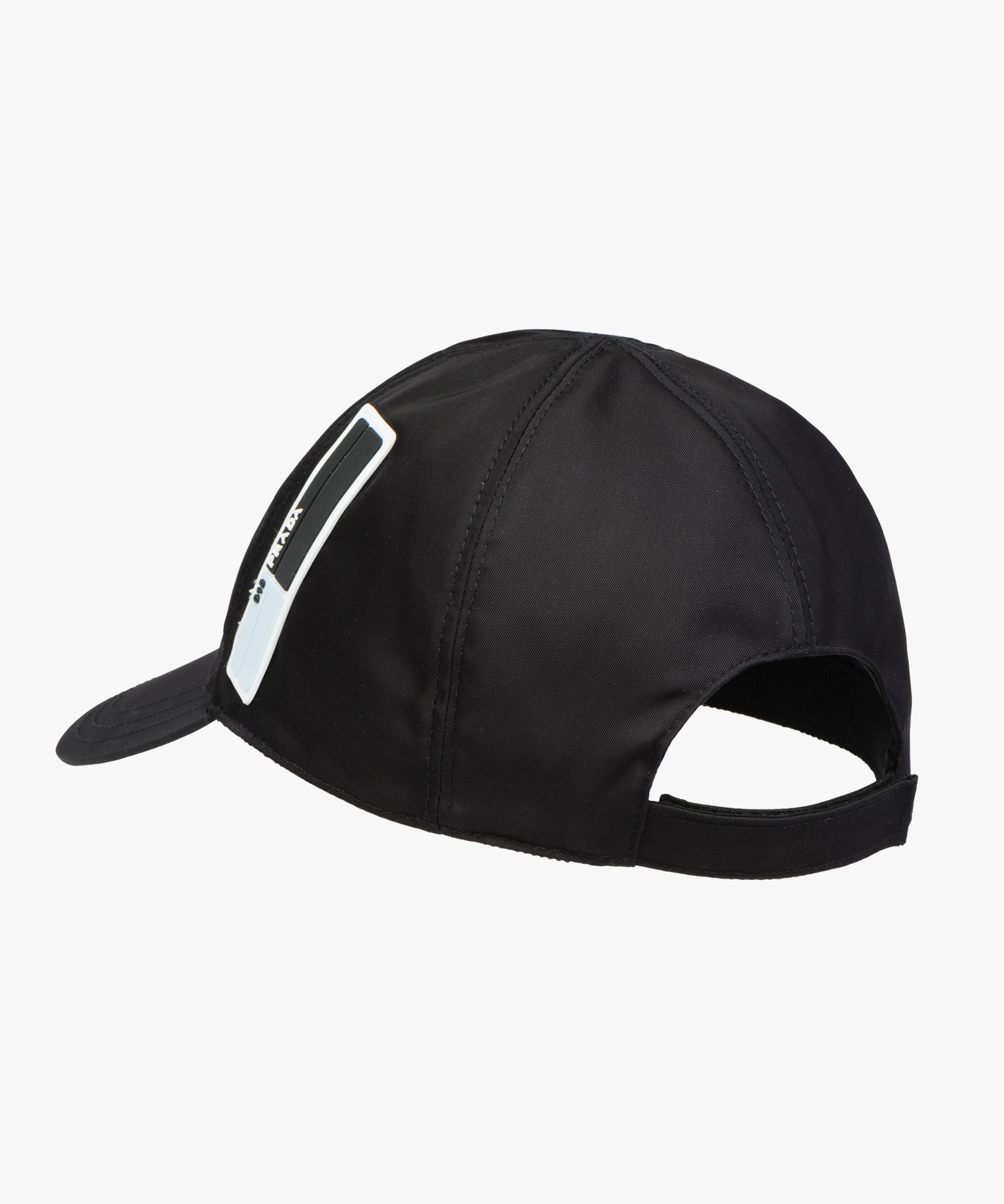 d019c42a7 ... Nylon baseball cap Prada BLACK ...