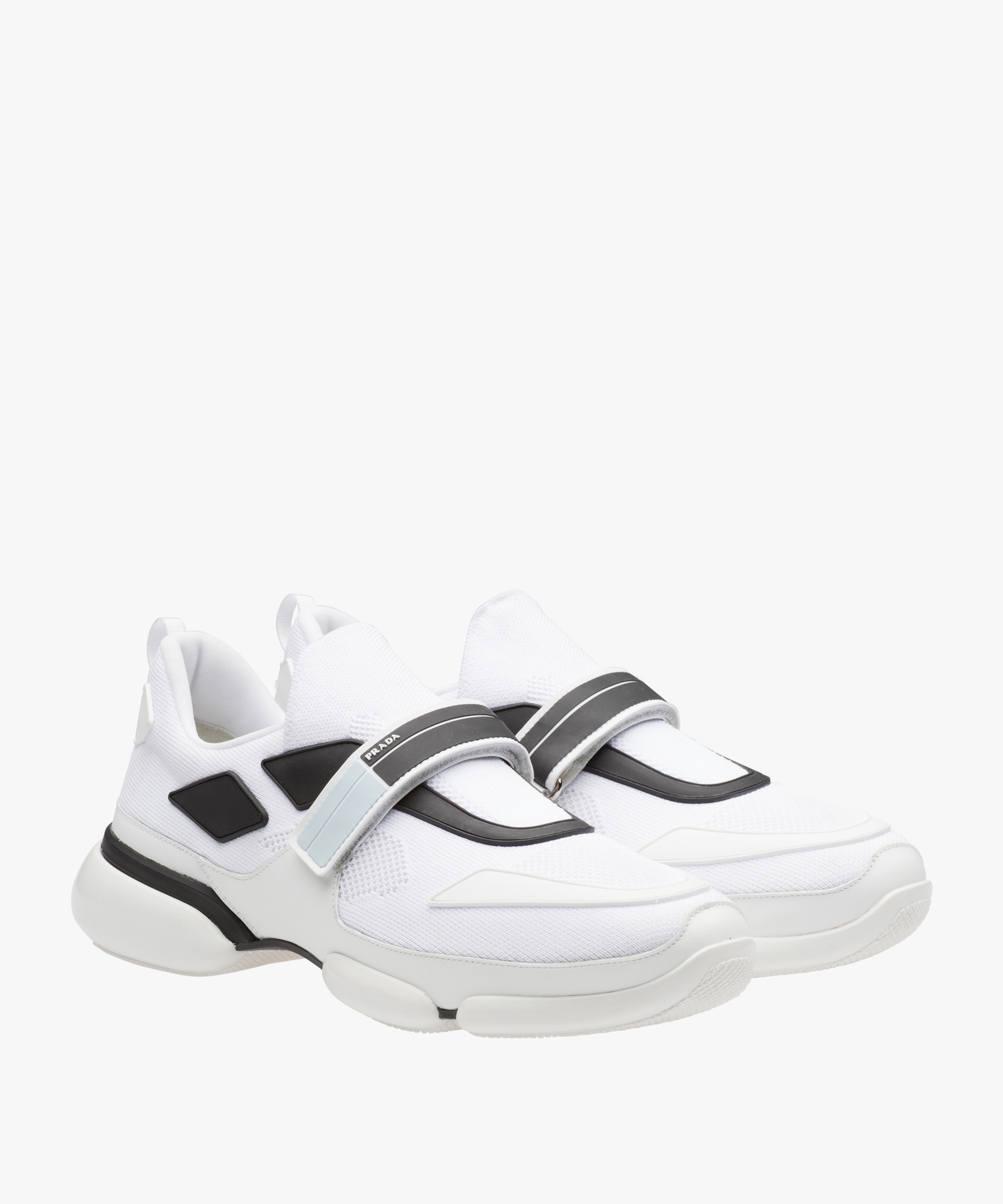 deals cheap online Prada White Cloudbust sneakers best sale cheap online good selling very cheap q19cfEfVUP