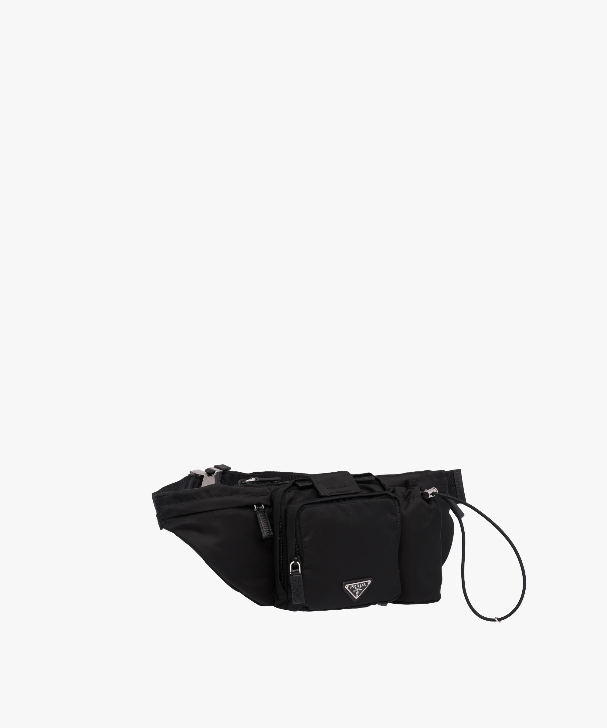 ... Technical Fabric Belt Bag Prada BLACK ...