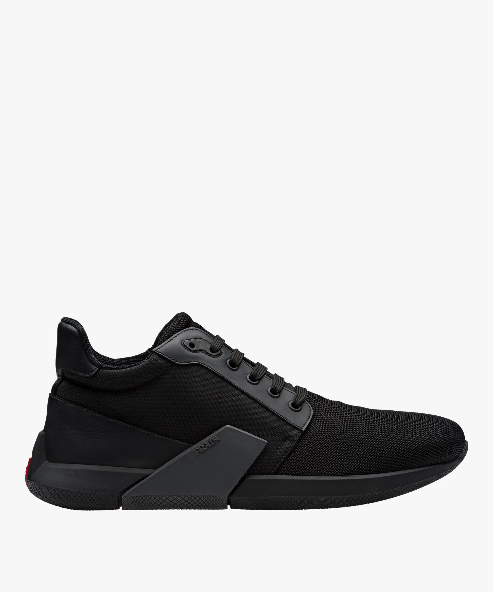 Prada technical fabric sneakers best seller online zESKV2Ju