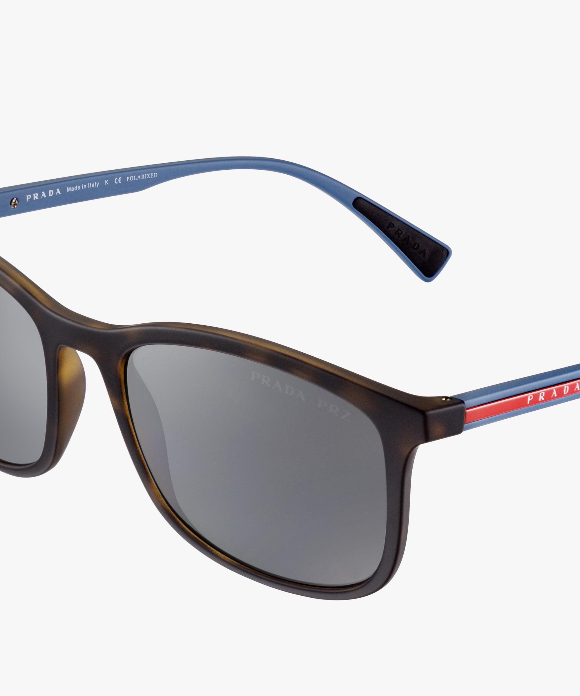 dec2e8e2ca Prada Linea Rossa Eyewear Collection Prada POLARIZED SLATE GRAY LENSES.